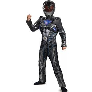 Other - Black Power Ranger Muscle Chest Boys Costume